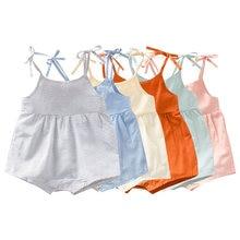Летняя одежда для детей Детский комбинезон мальчиков и девочек