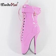 Wonderheel-Botines de Ballet para mujer, zapatos de Ballet de tacón de aguja de 7