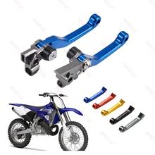 Dla Yamaha YZ125 YZ250 YZ250F YZ450F YZ 125 250 125X 250X 250F 426F 450F 2009-2019 motocykl Dirt Bike hamulca dźwignia sprzęgła tanie tanio CN (pochodzenie) 16cm High quality aluminum alloy 265g