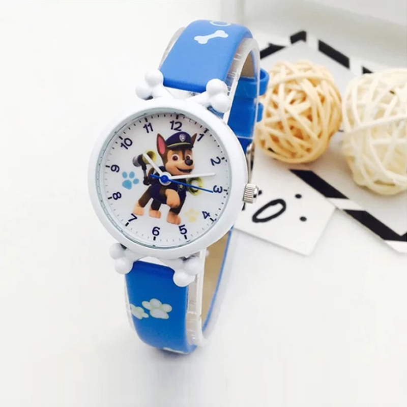 Paw Patrol Watches Digital Watch Time Develop Dog Everest Action Anime Figure Patrulla Canina  Clock Hodinky Ceasuri Relogio Toy