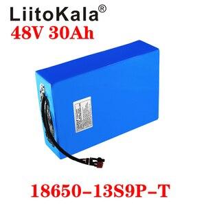 Image 4 - LiitoKala 48v 30ah 48v 1000w סוללה ליתיום יון 48V 30AH חשמלי אופני סוללה תא 48v קטנוע סוללה