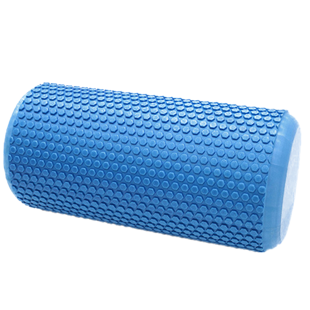 Yoga Foam Roller 60cm Gym Exercise Poratble Yoga Block Fitness EVA Trigger Point Massage Roller