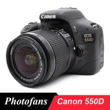 Appareil photo numérique Canon 550D DSLR, avec objectif 18-55mm, Kits (nouveau)
