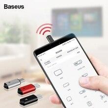 Baseus mando a distancia Universal RO2 con conector tipo C, control remoto por infrarrojos para televisor, aire acondicionado, STB, DVD, para Samsung, Xiaomi