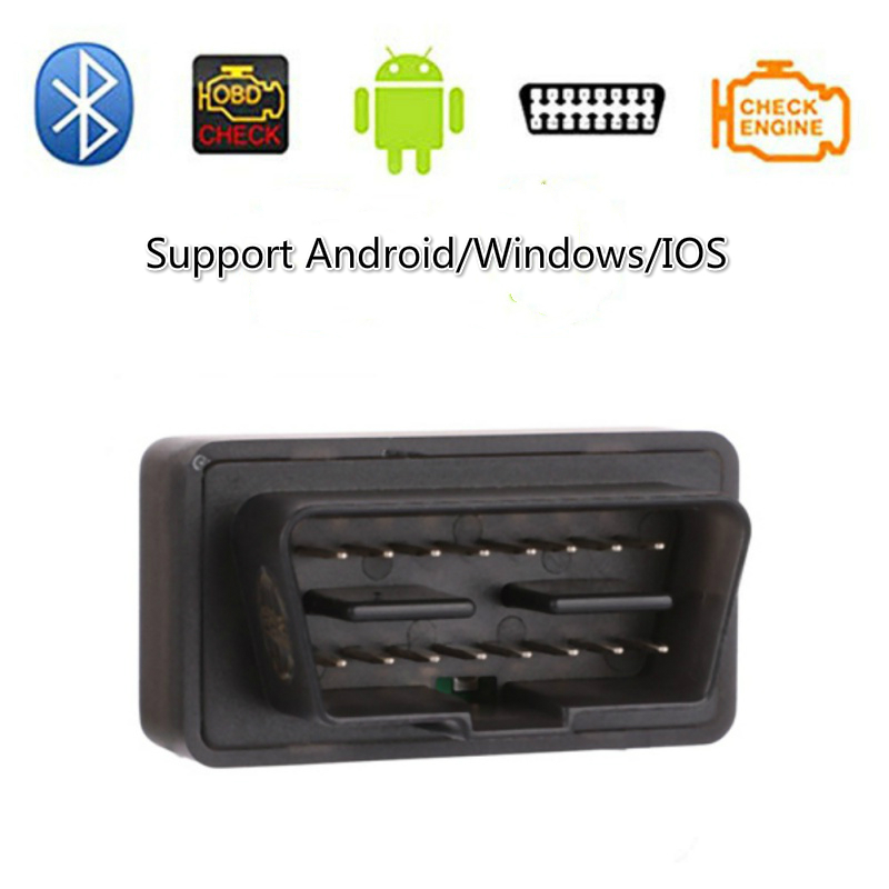 V06H4 <font><b>ELM</b></font> <font><b>327</b></font> <font><b>Bluetooth</b></font> OBD2 Auto Scanner Mini ELM327 OBD 2 <font><b>Bluetooth</b></font> <font><b>4.0</b></font> Adapter Car Diagnostic Tool for IPhone/Android image