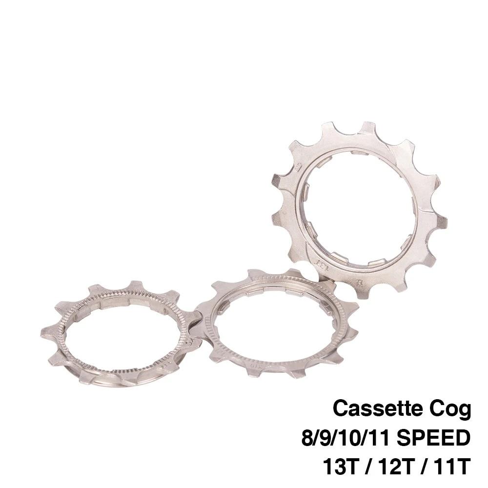 MTB Road Bike Cassette Cog 8 9 10 11 Speed 11T 12T 13T Freewheel for Shimano
