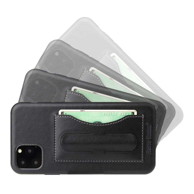 Fashion Faux Leather Card Holder Case for iPhone 11/11 Pro/11 Pro Max 3