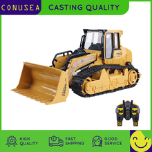 1 16 RC Truck Bulldozer Dumper Caterpillar Tractor Model Engineering Car Lighting Excavator Radio Controlled Car Toys For Boys cheap Metal Plastic CN(Origin) 3 AA batteries (not included) Remote Control about 30m MODE1 MODE2 Brush Motor 30day 6822L 6838L