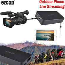 Video-Capture-Card Tv-Box Game-Recording XBOX Dslr-Camera Smart-Phone HDMI PS4 Live-Streaming
