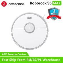 Roborock s50 s55 Xiaomi 2 Aspirador de pó para Casa Inteligente de Limpeza Molhado Limpar Tapete Poeira Varrendo mi Robot Roboti