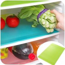 4 قطعة/المجموعة الثلاجة سادة مضادة للجراثيم المانعة العفن الرطوبة Tailorable الحرارة العزل سادة المطبخ الثلاجة حصيرة