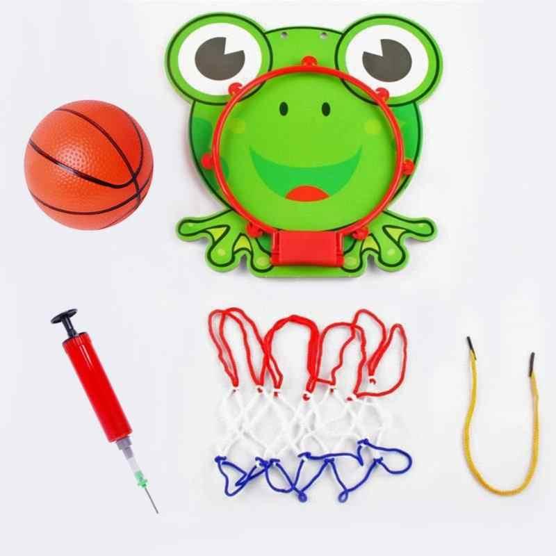 Mini Cartoon Muur Mouted Basketbal Speelgoed Kids Kinderen Draagbare Indoor Home Sport voor Ouder-kind Interactieve Verjaardag Speelgoed