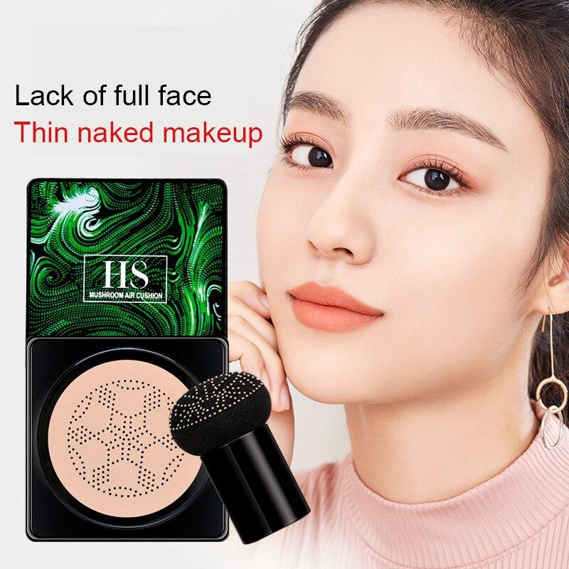 Основа для макияжа, Bb крем, воздушная подушка в форме гриба, консилер, макияж Coreano, корейский макияж, увлажняющий макияж TSLM1