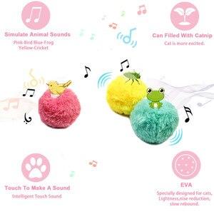 Интерактивная кошка мяч надувные игрушки плюшевые электрический кошачья мята звук кошка Selfplaying котенок кошка игрушка мяч для животных продукты принадлежности для питомцев игрушки для кошек|Игрушки для кошек|   | АлиЭкспресс