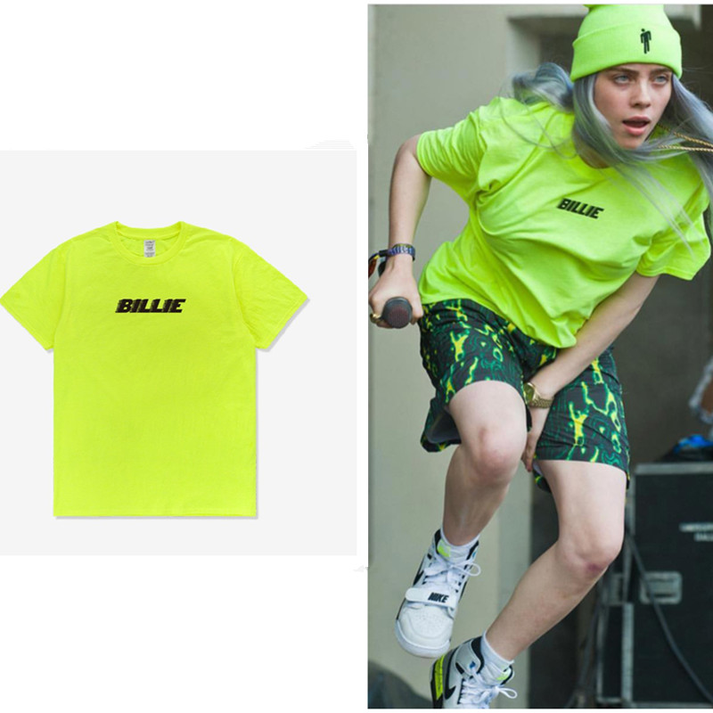 Billie Eilish Green Shirt Off 71 Free Shipping