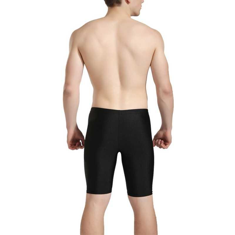 الرجال المايوه سراويل بوكسر جذوع تنفس لونغ بيتش سروال سباحة قصير عالية مطاطا ثوب السباحة جذوع الغوص بحر