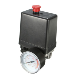 Image 3 - Compresseur dair, petit régulateur dair, 7.25 à 125 PSI, avec interrupteur de contrôle 15a 240V/AC réglable, quatre trous