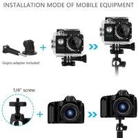 селфи палка монопод штатив для фотоаппарата монопод для селфи DSLR Gopro селфи палка для самсунг телефона для айфона 4