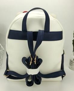 Image 3 - Śliczna moja melodia Cinnamoroll Kuromi skórzana torba na ramię mała plecak Crossbody torby dla kobiet dziewczynki torba ze sznurkiem