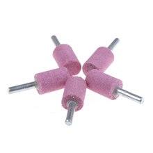 Цилиндрический абразивный камень od20 5 шт/лот насадка для шлифовального