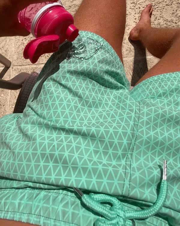 الصيف الطفل سروايل السباحة القصيرة حساسة للحرارة اللون تغيير بناطيل الشواطئ السباحة جذوع السراويل اللون تغيير ملابس السباحة