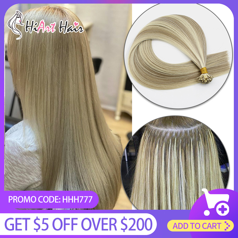 Popular Brand Hiart 0.8g Capsules Keratin Hair Extensions Human Remy Hair Factory Flat Tip Hair Exension Double Drawn Pre Bonded Hair 18-22 Outstanding Features