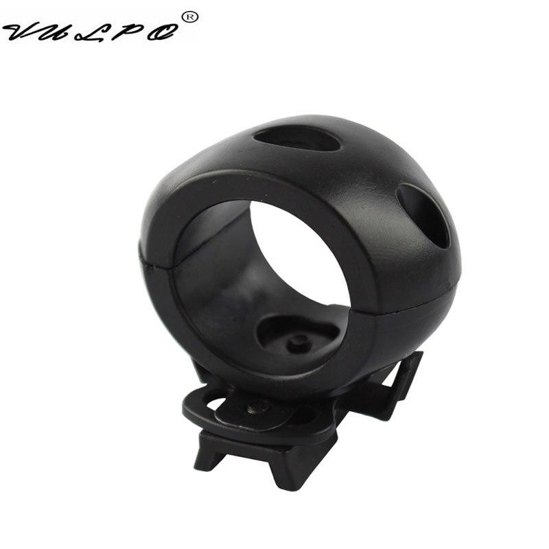 VULPO 30 мм шлем фонарик крепление зажим тактический фонарик адаптер зажима для быстрого шлема легкий держатель шлем аксессуары