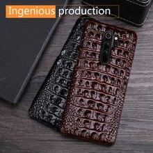 Coque de téléphone en cuir véritable haut de gamme pour xiaomi Redmi note8 Pro coque de téléphone en cuir de vachette Mi Note 7 8 9 10 max plus lite mix