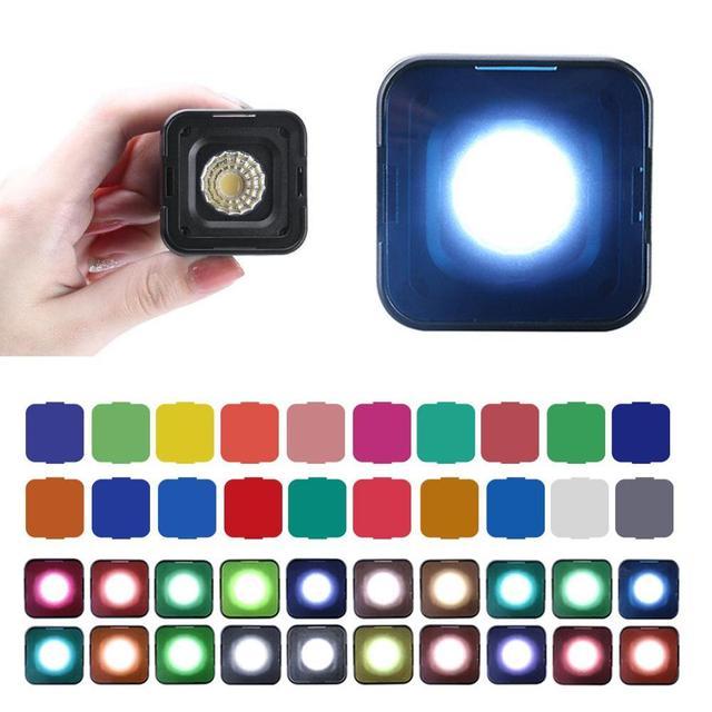 Ulanzi L1 Pro Waterproof Mini LED Light IP67 10M Built in Lithium Battery 5500+200K Waterproof Mini LED Light