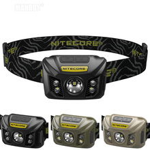 Koop Nitecore NU32 Wit + Rood Licht Cree XP G3 S3 Led Oplaadbare Ingebouwde Batterij Koplamp Cri Outdoor Camping zoeken 3 Kleuren