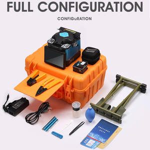 Image 5 - 2019 New product promotion COMPTYCO FTTH Fiber Optic Welding Splicing Machine Optical Fiber Fusion Splicer FS 60E