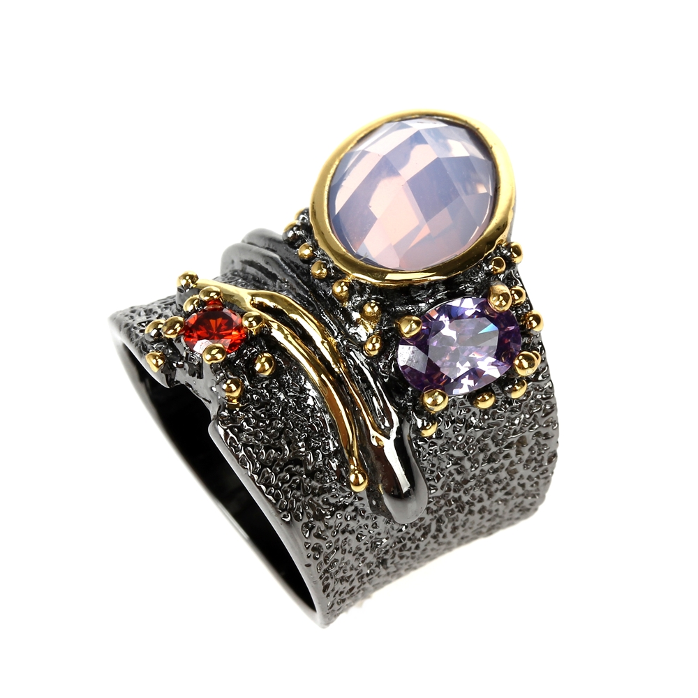 WA11749 DC1989 dreamcarnival1989 Top Brand Gothic Rings women wedding must have (9)