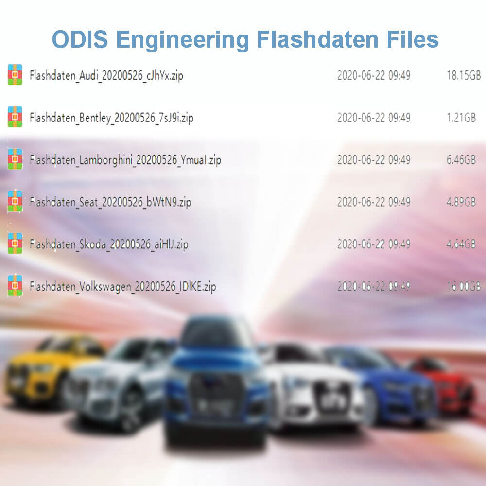 ODIS Engineering Flashdaten Files 202005