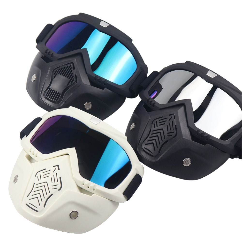 Classic Style Tactical Paintball Mask Soft Bullet Dart Protective Mirror Face Mask For Games For Airsoft Colorful