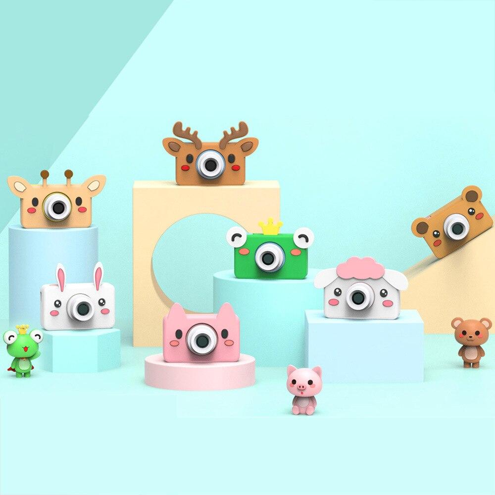 Enfants Mini caméra enfants éducatifs créatifs jouets enfants bébé cadeaux HD caméra numérique multifonction Projection vidéo caméra