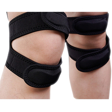 adjustable patella knee tendon strap protector guard support pad belted sports knee brace keenpads fitness training knee support 1Pair Breathable Knee Brace Support Adjustable Knee Joint Stabilizer Patella Protector Kneepad Orthopedic Arthritic Guard Strap