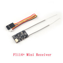 Fli14+ 14CH Mini Receiver with PA Amplifier OSD RSSI Output for Flysky FS-i4 FS-i6 FS-I6X Eachine I6 Turnigy Evolution Drone Toy