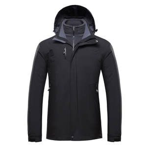 JAYCOSIN Men's Jacket Chaqueta Hombre Winter Warm Plus Size Waterproof Hoodie Jackets Coat Outdoor Jacket Men Jaqueta  19AUG7