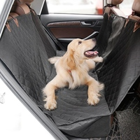 SZS Hot Pet Dog Car Seat Cover Back Seat Durable Waterproof Anti Scratch Non Slip Washable Car Rear Seat Cover Mat