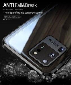 Image 5 - Funda de privacidad para Samsung Galaxy S20, protector de vidrio templado Ultra magnético para Samsung Note 10 S10 S20 Plus S10E