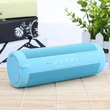 Bluetooth Music Bass Speaker Waterproof Portable Outdoor Wireless Column Loudspeaker Support TF Card FM Radio High Quality