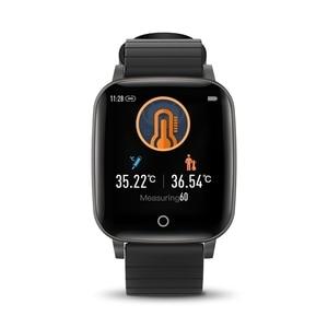 Image 2 - [מדידת טמפרטורת גוף] BlitzWolf BW HL1T Relogio Inteligentes שעון חכם 2020 inteligentes שעונים אימונים אוטומטיים של קצב לב אימוני נשימה תצוגת מזג אוויר שעונים לילדים גברים נשים