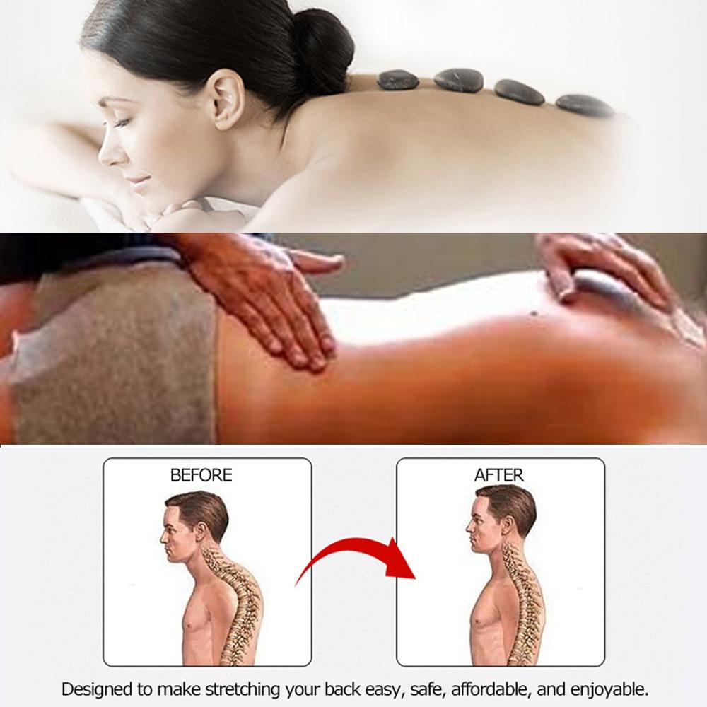 Stretch oprema leđa masažer nosila fitnes lumbalni oslonac - Fitness i bodybuilding - Foto 5