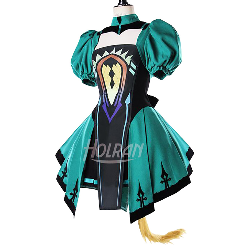 Light Novel Fate/Apocrypha Cosplay Costume Cos Atalanta Berserker Fate/Grand Order Halloween Carnival Dress
