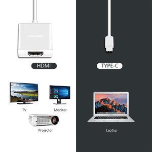 Image 5 - لينكوم USB C محور نوع C إلى محول HDMI 4K الترا HD 2016P 60Hz