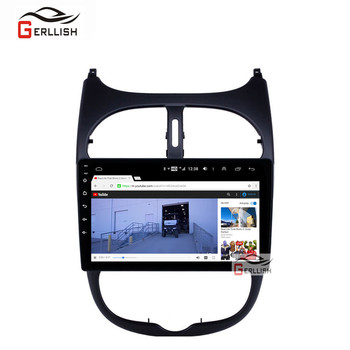 6G + 128G Android For Peugeot 206 2001 - 2008 Car Radio gps Multimedia Video Player Navigation GPS not 2 din dvd image
