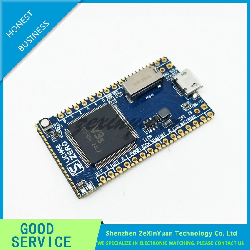 V3S ARM Cortex-A7 Core CPU Linux Development Board IOT Internet Of Things