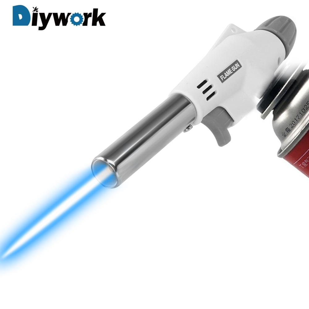 DIYWORK Flame Gun Welding Gas Ignition Lighter 920 Metal Gun…