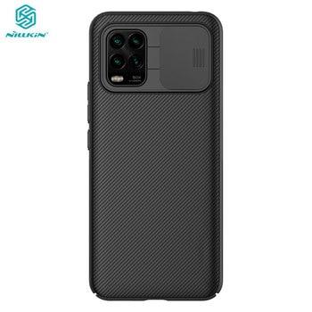 Camera Protection Case For Xiaomi Mi 10 Youth Mi10 Lite 5G Nillkin Slide Lens Protection Cover for Xiaomi Mi 10 Lite Case