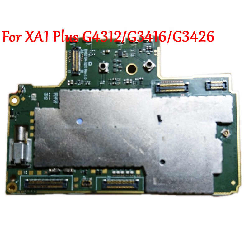Tested Full Work Original Unlock Motherboard For Sony Xperia Xa1 Plus G3412 G3416 G3426 Circuit Electronic Panel Aliexpress